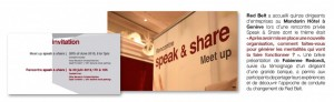 Redondi Fabienne Red Belt Speak&Share Juin 2013